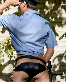 Officer gay porn should look like this