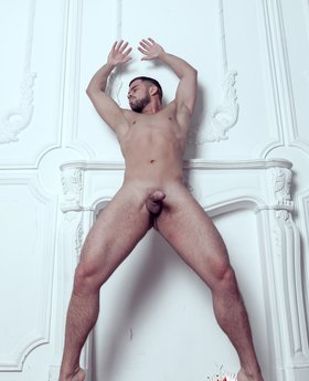 Nude male posing gay full frontal
