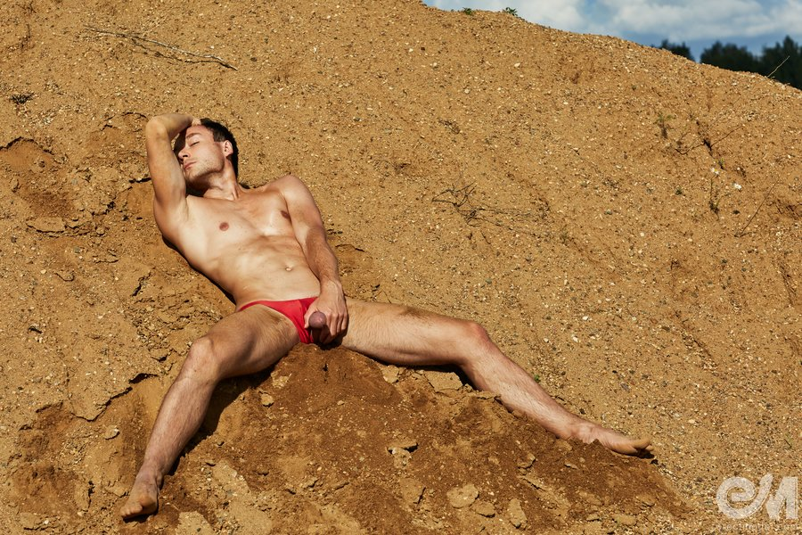 Boy in the sand gay porn photos