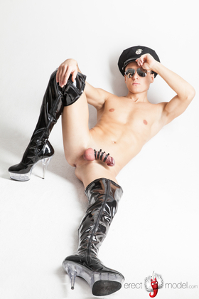 Funny gay boots high heels