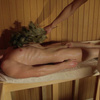 Who like nude men in sauna steaming and relaxing?