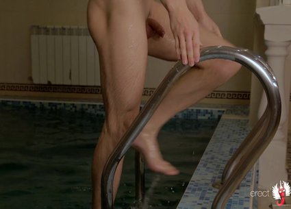 Solo male hd from pool and billiard-table