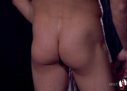 Wet male strip show video