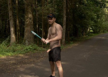 Backstage gaybrutal xxx shooting in the forest